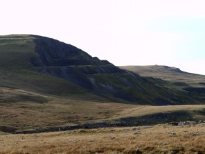 Foel Fawr quarry from a distance